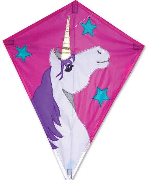 Lucky Unicorn 25'' Diamond Kite
