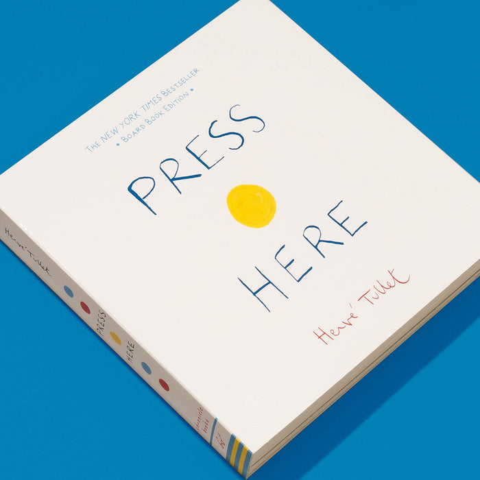 Press Here Board Book by Herve Tullet