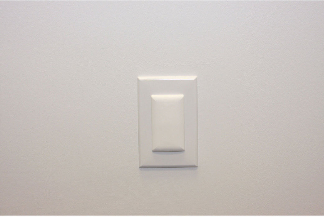Qdos Stay Put Double Outlet Plug - White