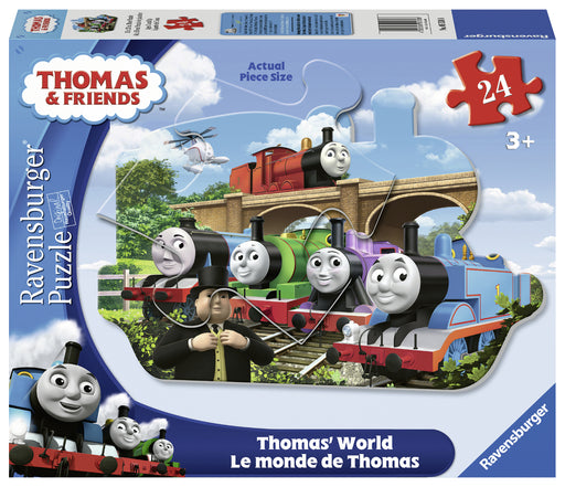 Ravensburger Thomas' World 24 Piece Shaped Puzzle