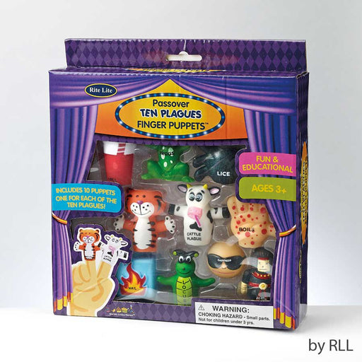 Rite Lite Ten Plague Finger Puppets