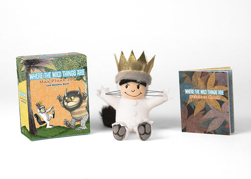 Running Press- Where the Wild Things Are: Plush and Stickers