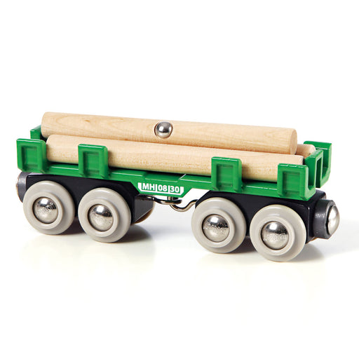 BRIO Lumber Wagon Train