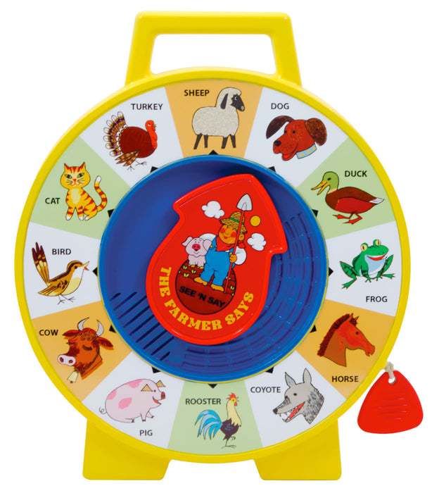 Fisher-Price Retro See N Say Spinner
