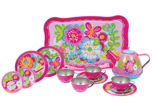 Garden Fun Tea Set