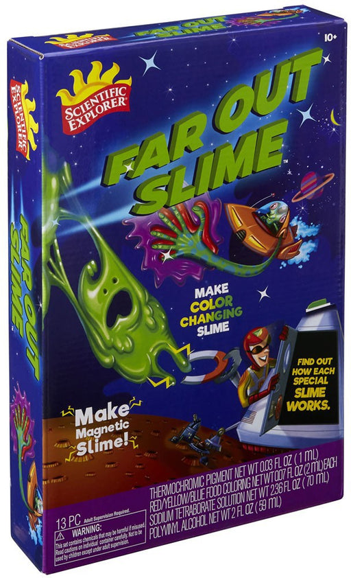 Scientific Explorer Far Out Slime Science Kit