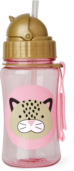 Skip Hop Straw Bottle Leopard