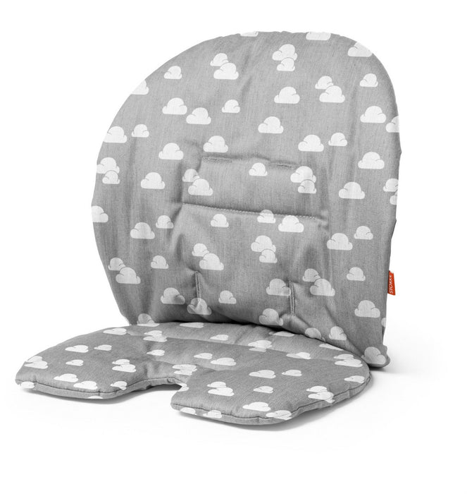 Stokke Steps High Chair Cushion 2017 - Grey Clouds