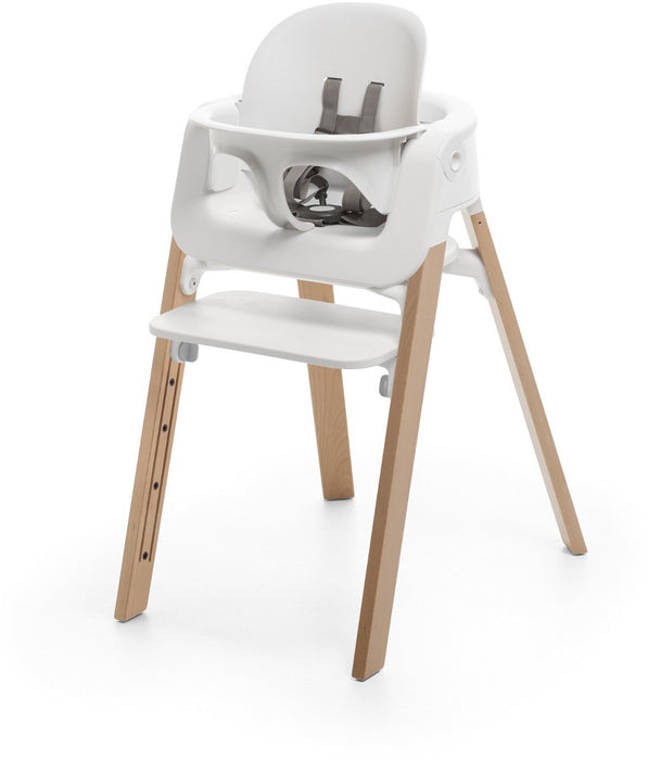 Stokke Steps High Chair Complete - White/Natural