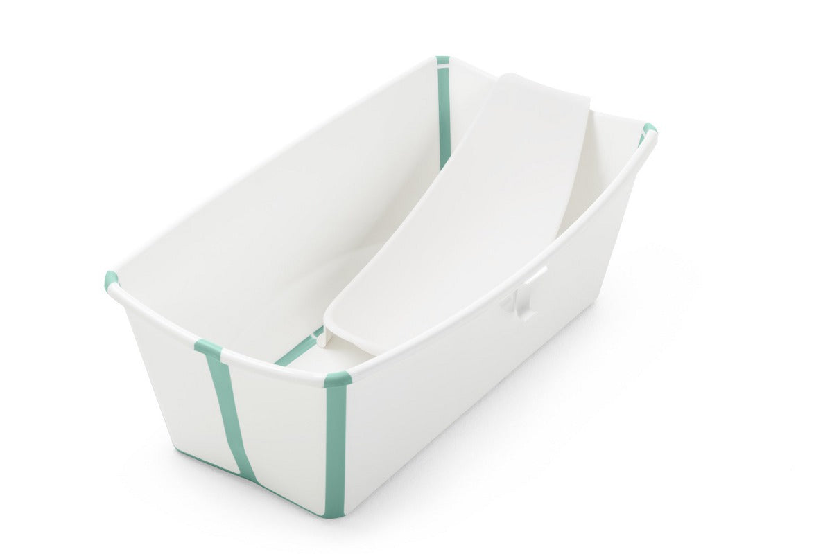 Stokke Flexibath Tub with Heat Sensitive Plug and Newborn Support