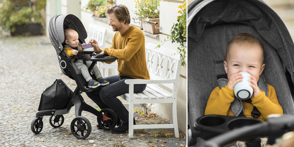 Stokke Xplory and Trailz Stroller Snack Tray