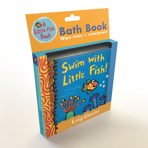Swim with Little Fish Bath Book