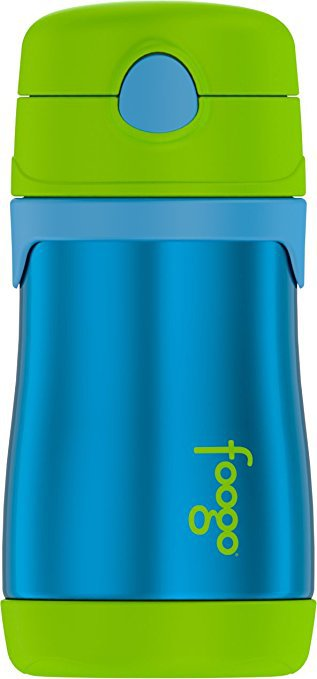 Thermos Foogo Stainless Steel 10 ounce Straw Bottle