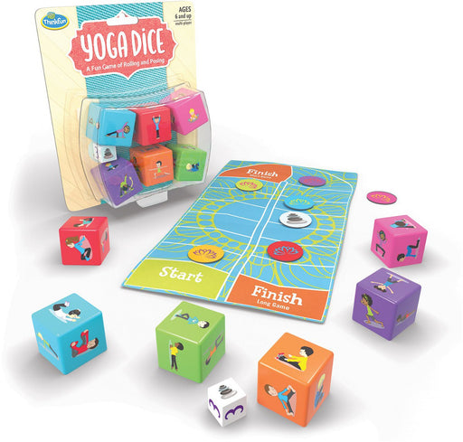 Thinkfun Yoga Dice Game