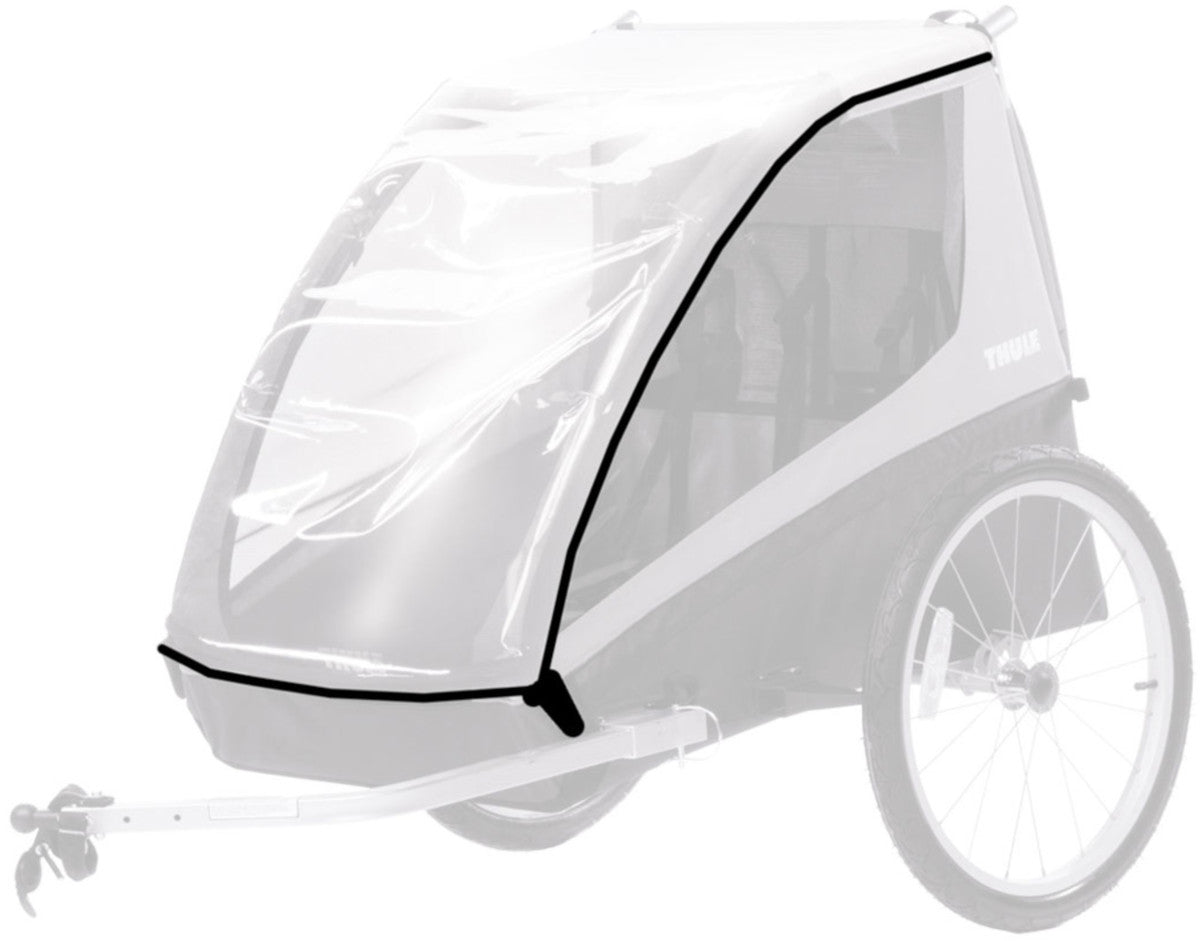 Thule - Bicycle Trailer Rain Cover Coaster/Cadence
