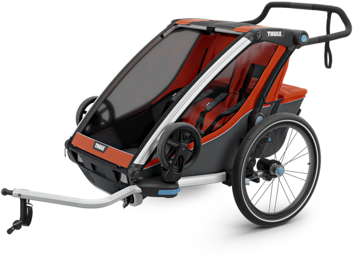 Thule Chariot Cross 2 Double Multi-Sport Trailer and Stroller 2019 / 2020