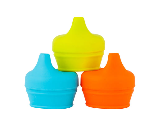 Boon Snug Spout Silicone Sippy Lids 3Pk