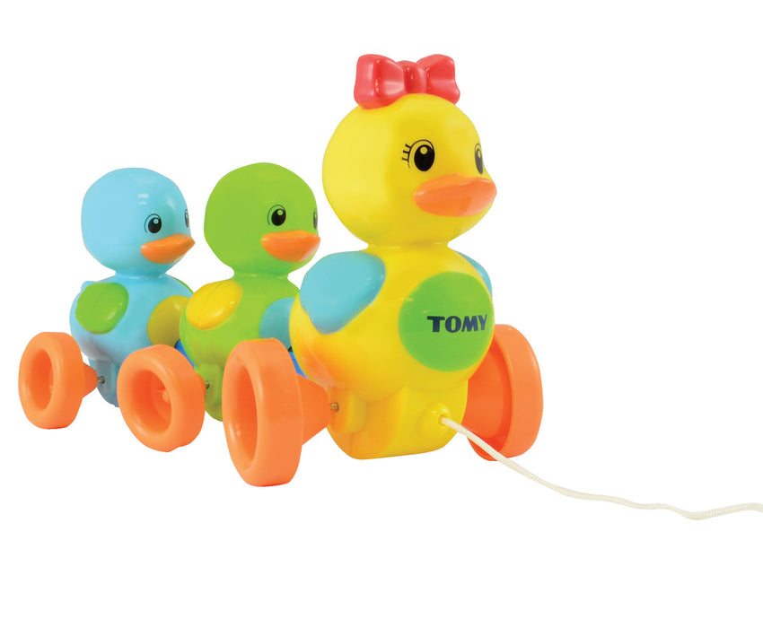 Tomy Quack Along Ducks Pull Toy