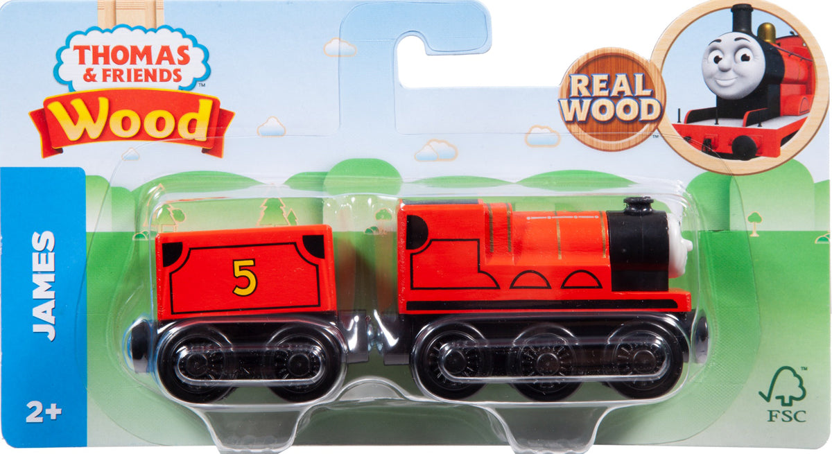 Thomas Wooden Railway - James Train
