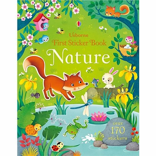 Usborne First Sticker Book - Nature