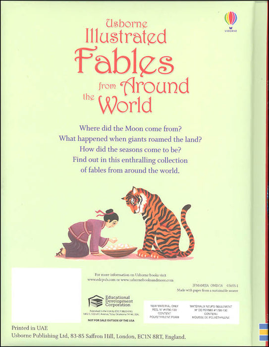 Usborne Illustrated Fables From Around The World