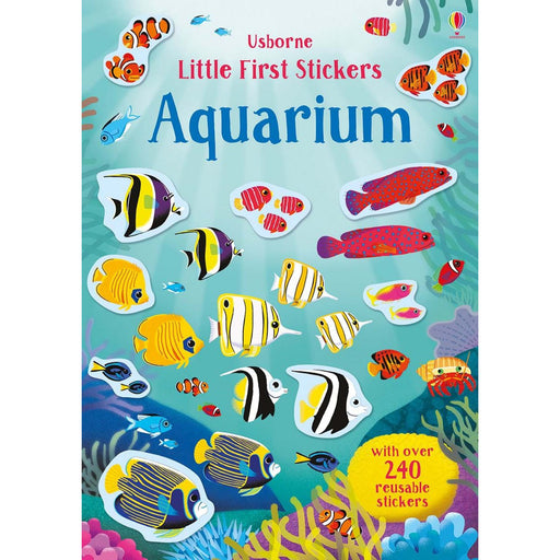 Usborne Little First Stickers - Aquarium