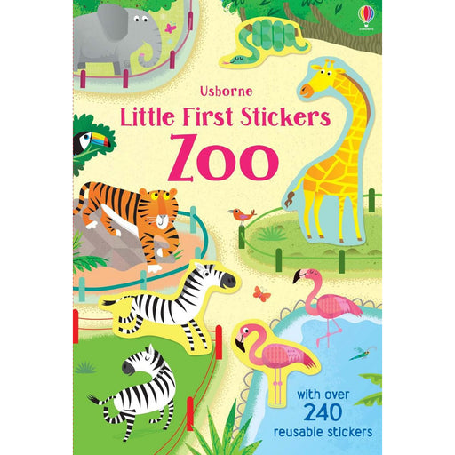 Usborne Little First Stickers Zoo