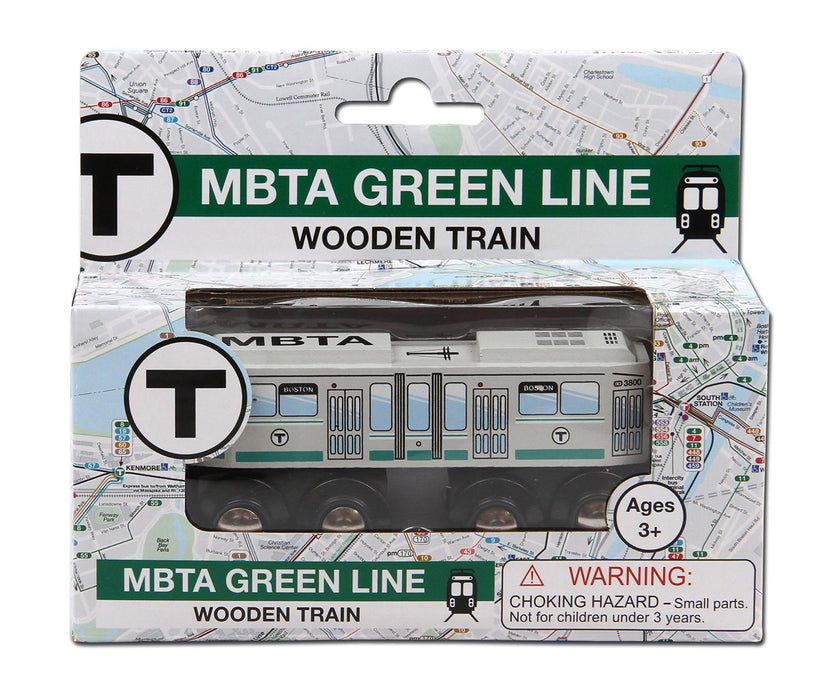 MBTA Green Line Single Wooden Car