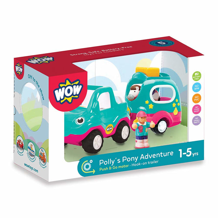 Wow Toys Polly's Pony Adventure