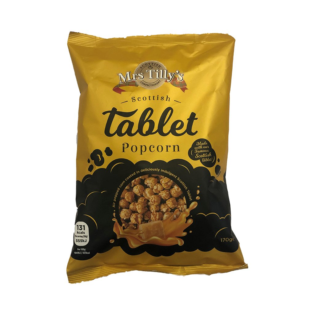 Tablet Popcorn (170g) - Mrs Tilly's