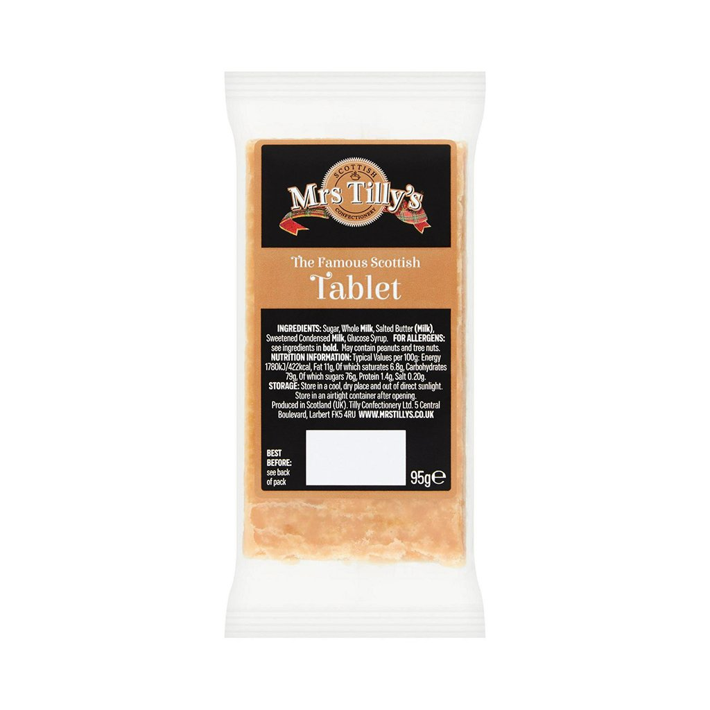 Tablet Bar (95g) - Mrs Tilly's