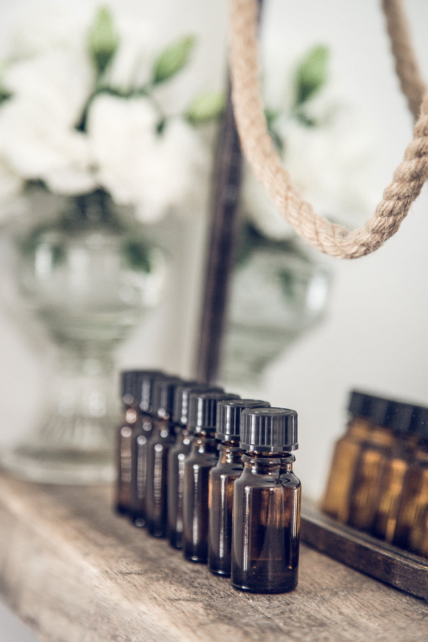 Natural Essential Oils & Blends
