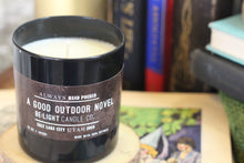 Load image into Gallery viewer, A Good Outdoor Novel Candle | 100% Non GMO Soy Wax