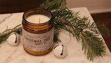 Load image into Gallery viewer, Christmas Tree Scented Soy Candle | 100% Non GMO Soy Wax/Repurposed Glass/Natural, Non Toxic Oils | Hand Poured in Salt Lake City, UT | 15% of every sales goes towards suicide prevention #candles4acause