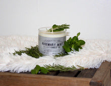 Load image into Gallery viewer, Rosemary Mint Candle | 100% Non GMO Soy Wax