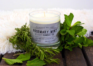 Rosemary Mint 100% Soy Candle