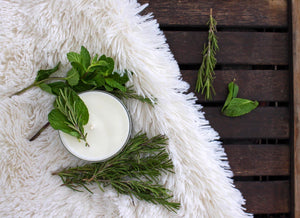 Rosemary Mint Candle | 100% Non GMO Soy Wax