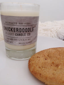 Snickerdoodle Candle | 100% Non Gmo Soy Wax