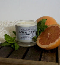 Load image into Gallery viewer, Grapefruit & Mint Candle   |  100% Soy Wax  |  Non-Toxic Oils  |  15% Goes toward suicide prevention