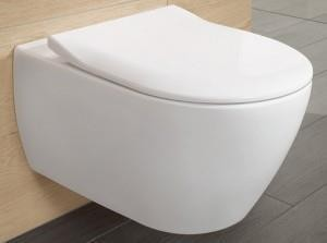 Pakabinamas unitazas Villeroy&Boch Subway 2.0 su soft close dangčiu 56001001 + 9M78S101