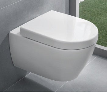 Pakabinamas unitazas Villeroy&Boch Subway 2.0 su soft close dangčiu 56001001 + 9M68S101