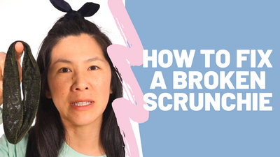 HOW TO FIX A BROKEN SCRUNCHIE