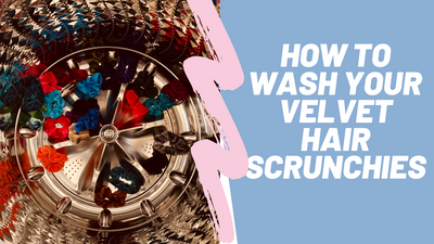 How to wash scrunchies | How to Clean scrunchies
