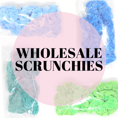 Bulk Scrunchies - Wholesale Scrunchies
