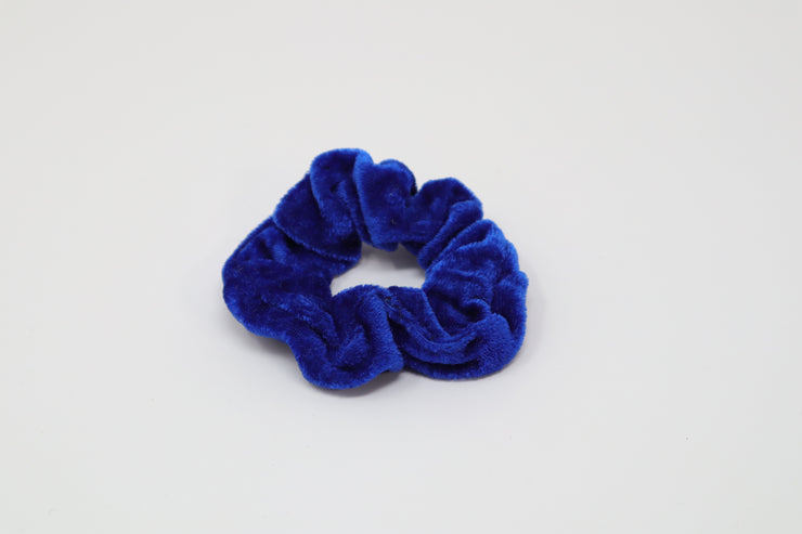royal blue scrunchie