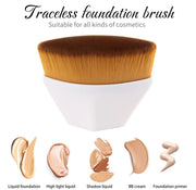 Flawless Petal Shaped Foundation Kabuki Brush - Pink