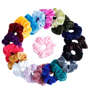 Velvet scrunchies 20 sets