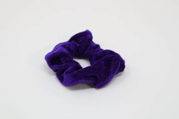 purple blue scrunchie