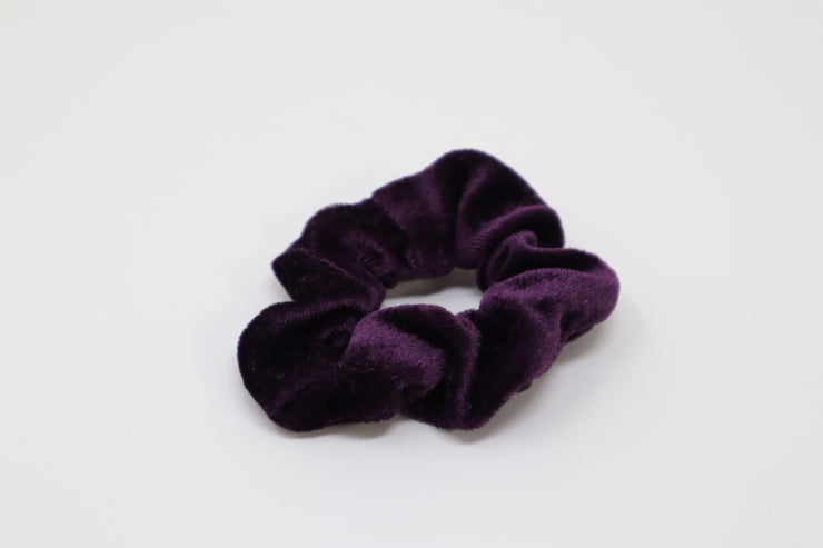 royal purple scrunchie
