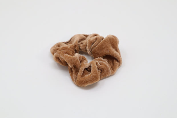 light brown scrunchie